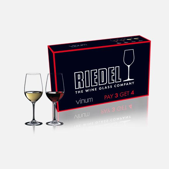 Riedel Set x 4 Copas Vinum
