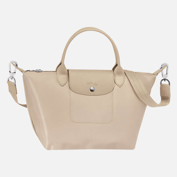 Longchamp Top Handle Bag Le Pliage Neo Chalk Ss17