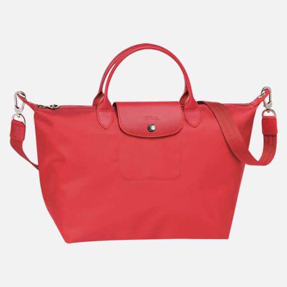 Top Handle Bag Le Pliage Neo Peony Ss17 Longchamp
