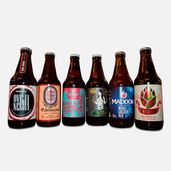 Six Pack de Cervezas Artesanales #1