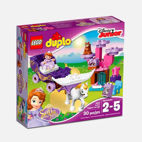 Carroza mágica de la Princesa Sofía Lego 10822