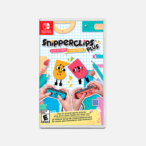 Juego Switch Snipperclips PLUS