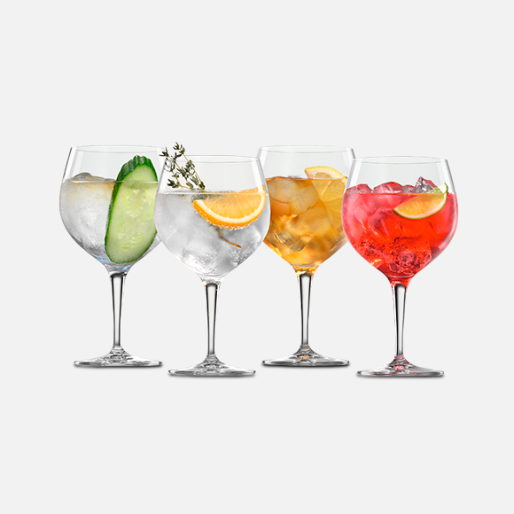 Copa de cristal para gin Set X 4