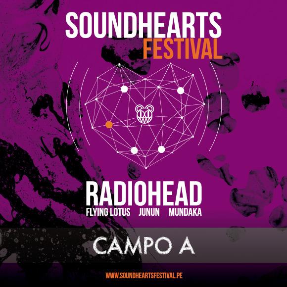 Entrada Concierto Radiohead - Campo A