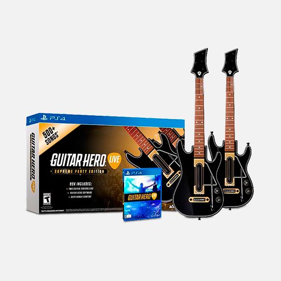 Guitar Hero Live 2 Pack