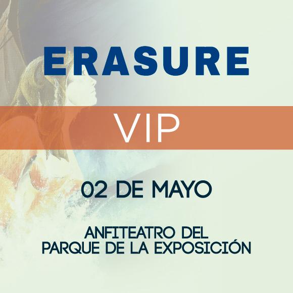 Entrada Concierto Erasure - VIP