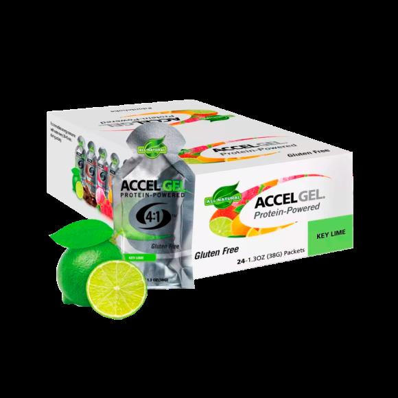 Suplemento Accel Gel Limón x 24 und