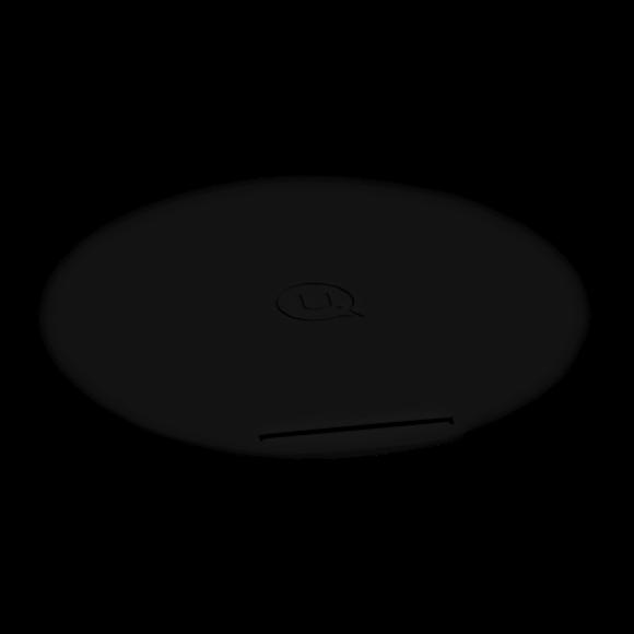 Cargador Pad inalámbrico con soporte negro