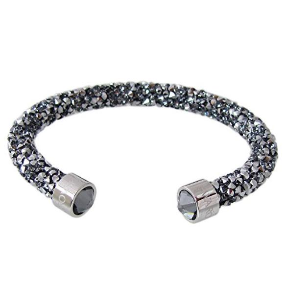 Swarovski brazalete crystaldust gray