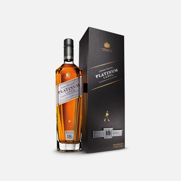 Whisky Johnnie Walker Platinum Label 750 ml