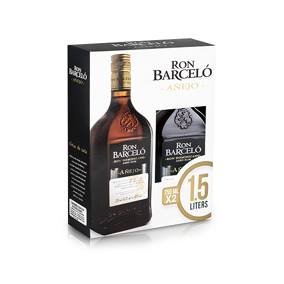 Pack ron Barcelo añejo