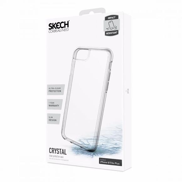 Skech Crystal iPhone one 7 Plus transparente