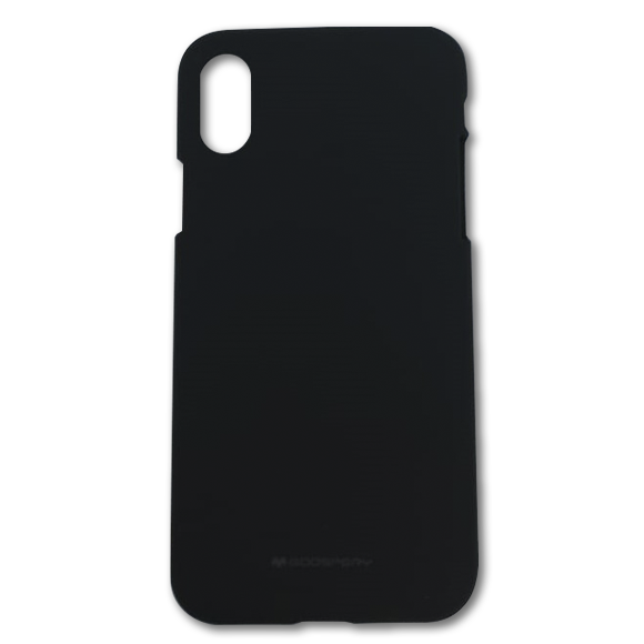 Jelly Case iPhone one X negro