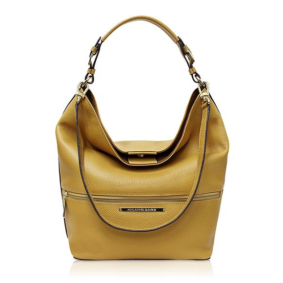 Cartera Tote Bag DS-2627 color amarillo