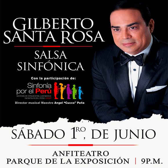 Gilberto Santa Rosa Salsa Sinfónica Platinum