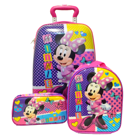 Set Minie mouse purple