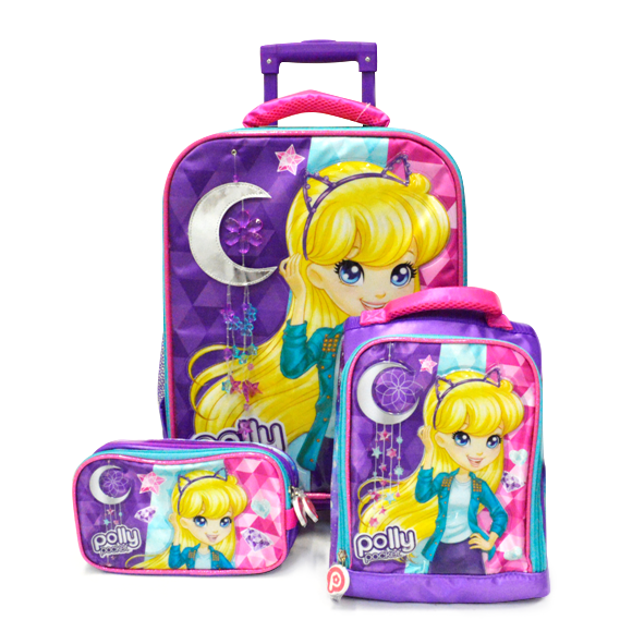 Set Polly Pocket purple
