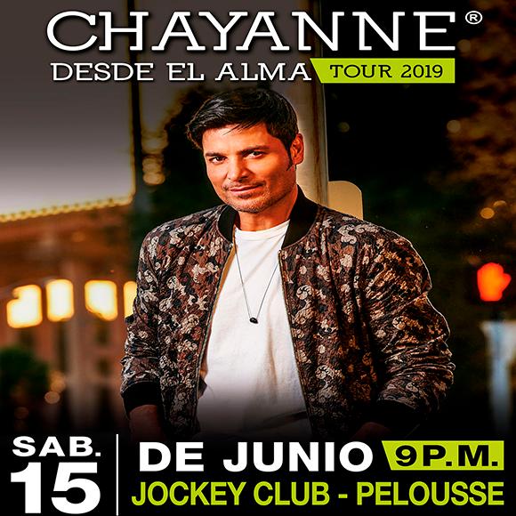 Concierto Chayanne Preferencial Fila 3- A. 68