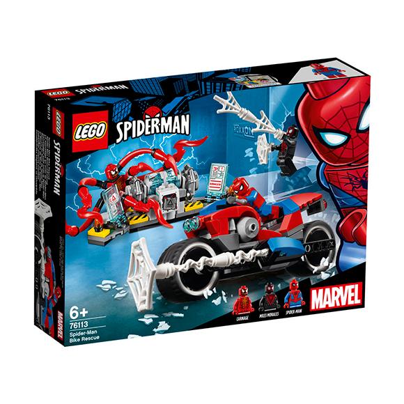 Lego Set Súper Héroes Vehículo Hombre Araña