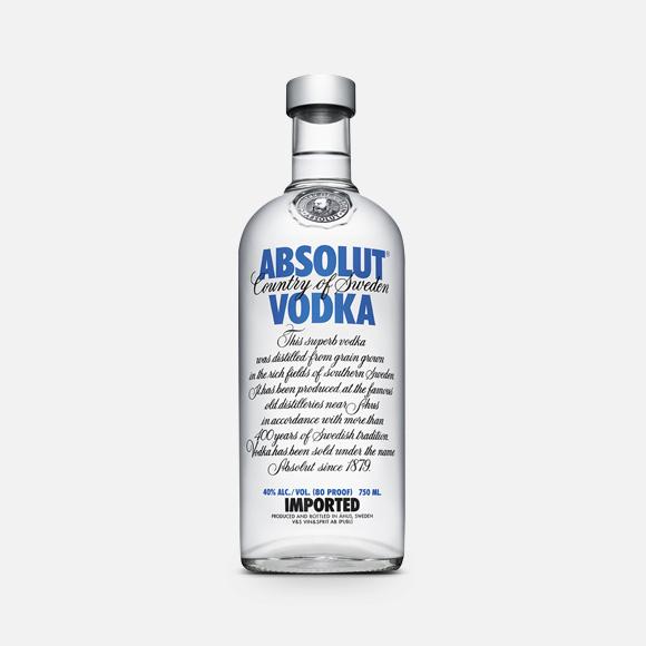 Vodka Absolut Regular 750 ml