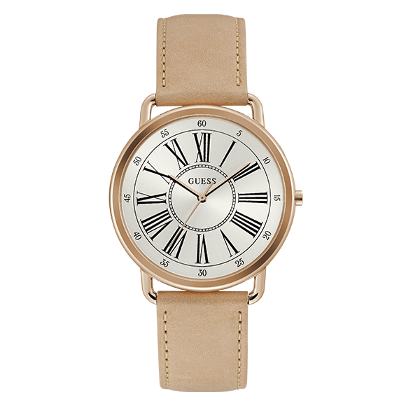 Reloj de dama Guess W1068L5 correa de silicona